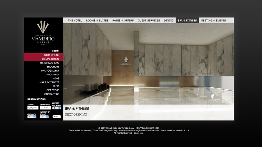 A great web design by Antonio Madonna, Rome, Italy: