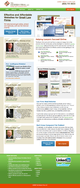 A great web design by The Modern Firm, LLC, Detroit, MI: