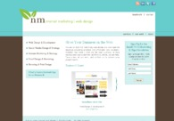 A great web design by Norma Maxwell, Minot, ND: