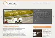 A great web design by Creatif Comunicación proactiva, Mendoza, Argentina: