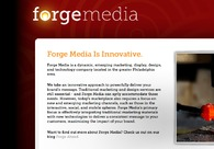 A great web design by Forge Media, Philadelphia, PA: