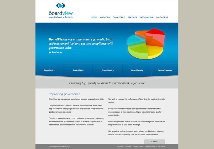 A great web design by Pad Media, Kingston, United Kingdom: