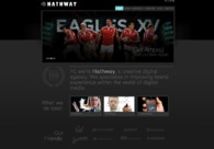 A great web design by Hathway: