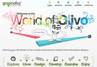 A great web design by GreenOlivz, Baltimore, MD: