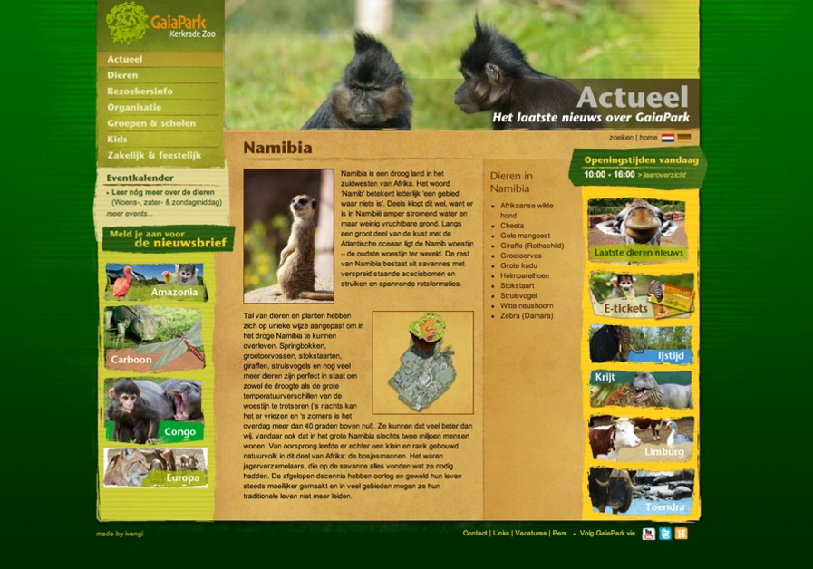 A great web design by H2R vormgeving & communicatie, Deventer, Netherlands: