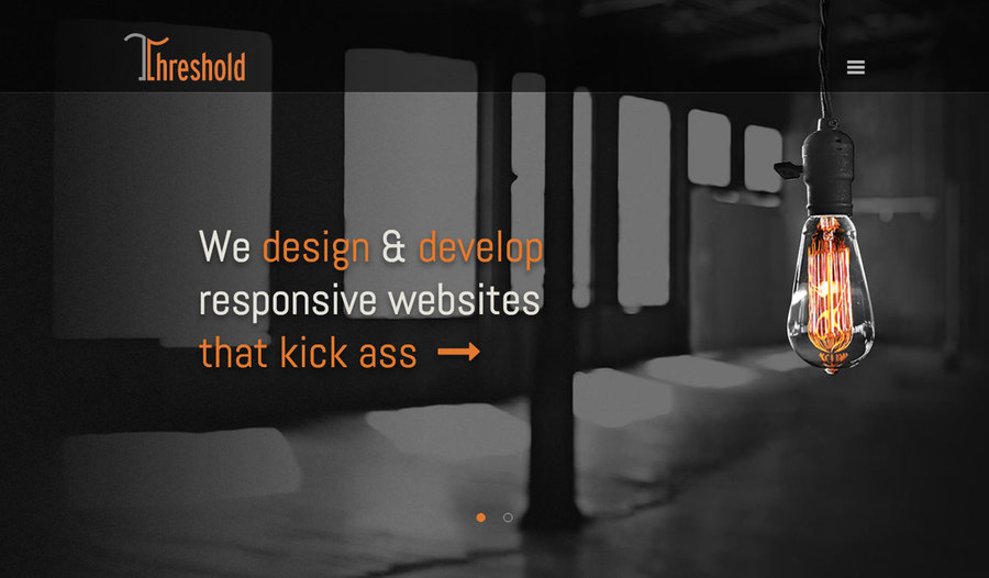 A great web design by Threshold, Portland, OR: Responsive Website, Marketing Website , Internet , PHP
