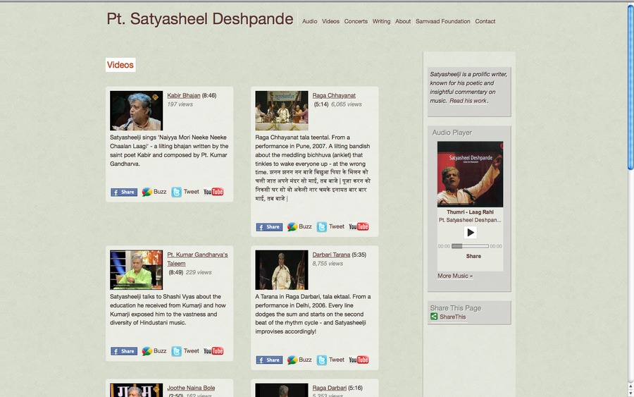 A great web design by On-the-web.in, Mumbai, India: