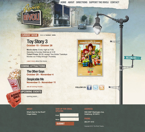 A great web design by ID Graphic World, Milwaukee, WI: