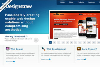 A great web design by Design Straw Company, London, United Kingdom: