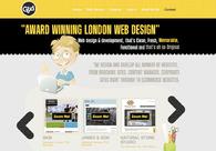 A great web design by Gothink Design, London, United Kingdom: