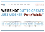 A great web design by AVGN Systems, New York, NY: