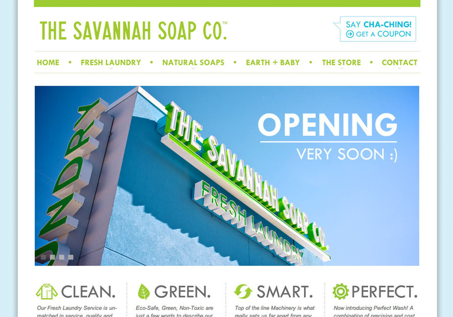 A great web design by Focus Lab, LLC, Savannah, GA: