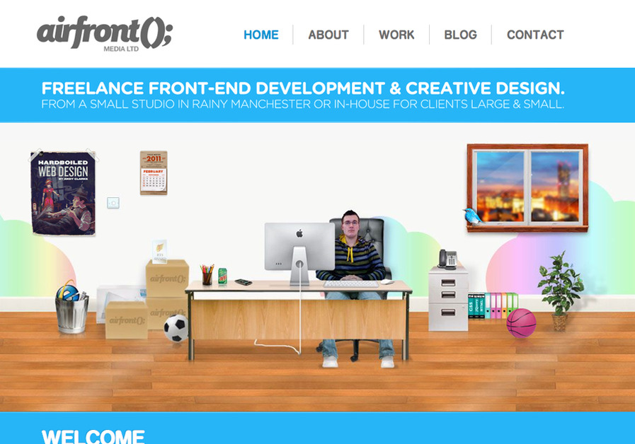 A great web design by Airfront Media Ltd, Manchester, United Kingdom: