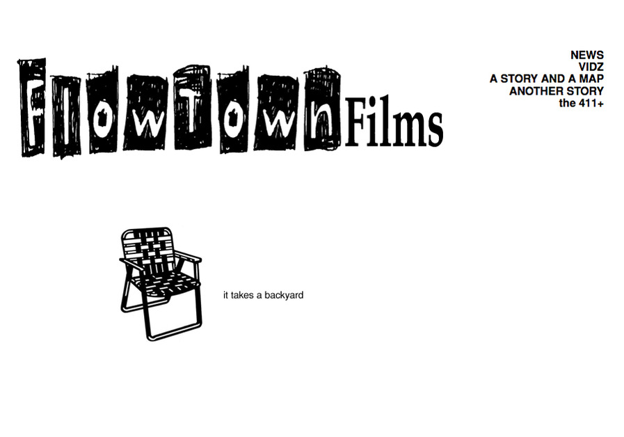 A great web design by FlowTown Films, Los Angeles, CA: