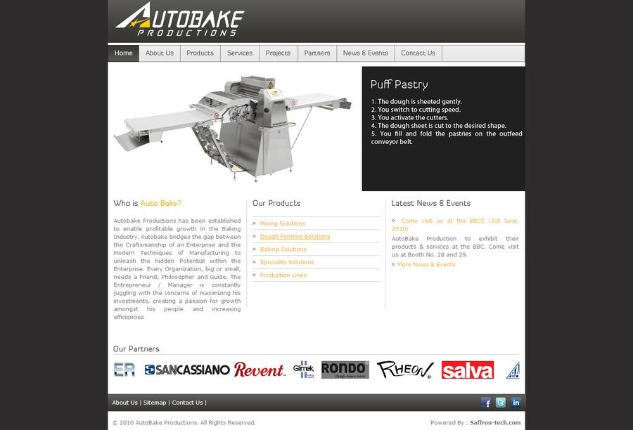 A great web design by Saffron Tech, Mumbai, India: