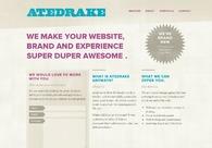 A great web design by Atedrake, Boston, MA: