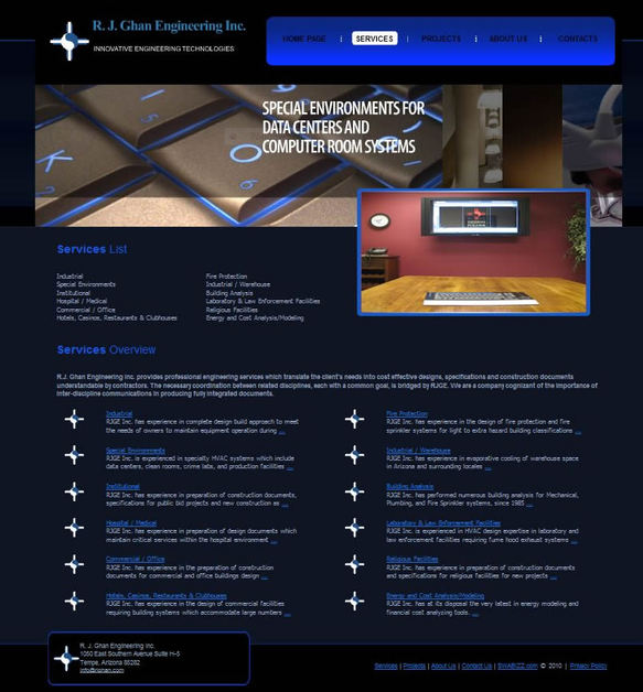 A great web design by SWAbizz, Phoenix, AZ: