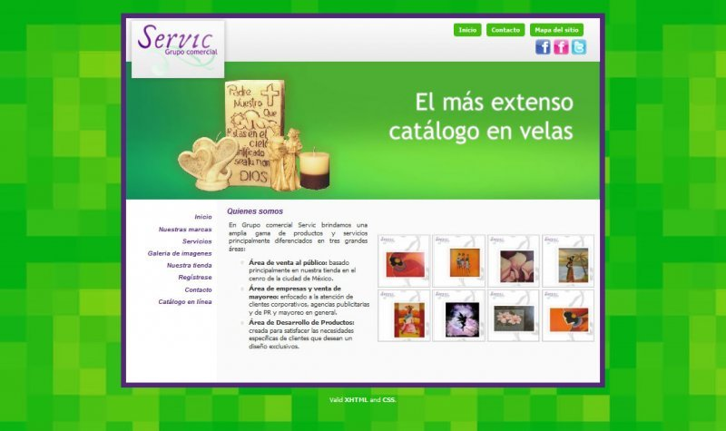 A great web design by 302Bis, Mexico DF, Mexico: