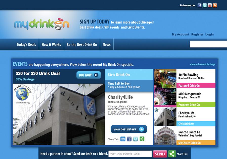 A great web design by Acapella, Chicago, IL: