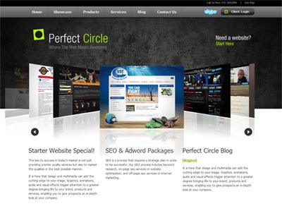 A great web design by Perfect Circle, Port Elizabeth, South Africa:
