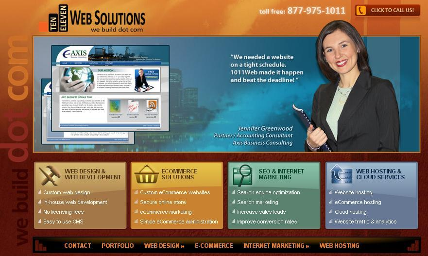 A great web design by 1011 Web Solutions, Little Rock, AR: