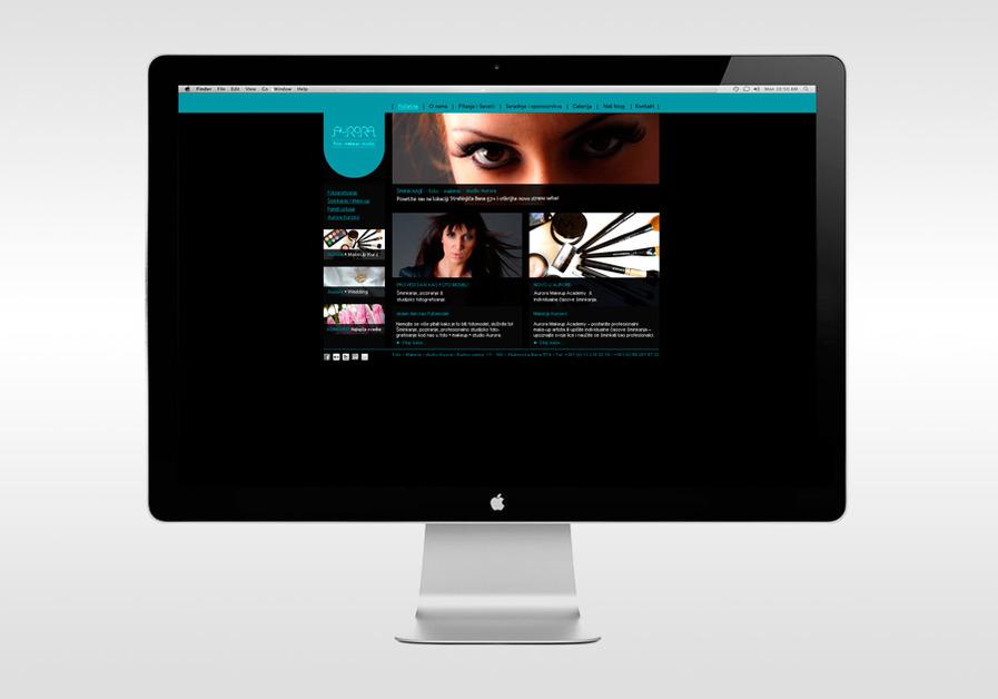 A great web design by Vjeko Sumic Design, Belgrade, Serbia: