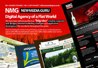 A great web design by New Media Guru, Miami, FL:
