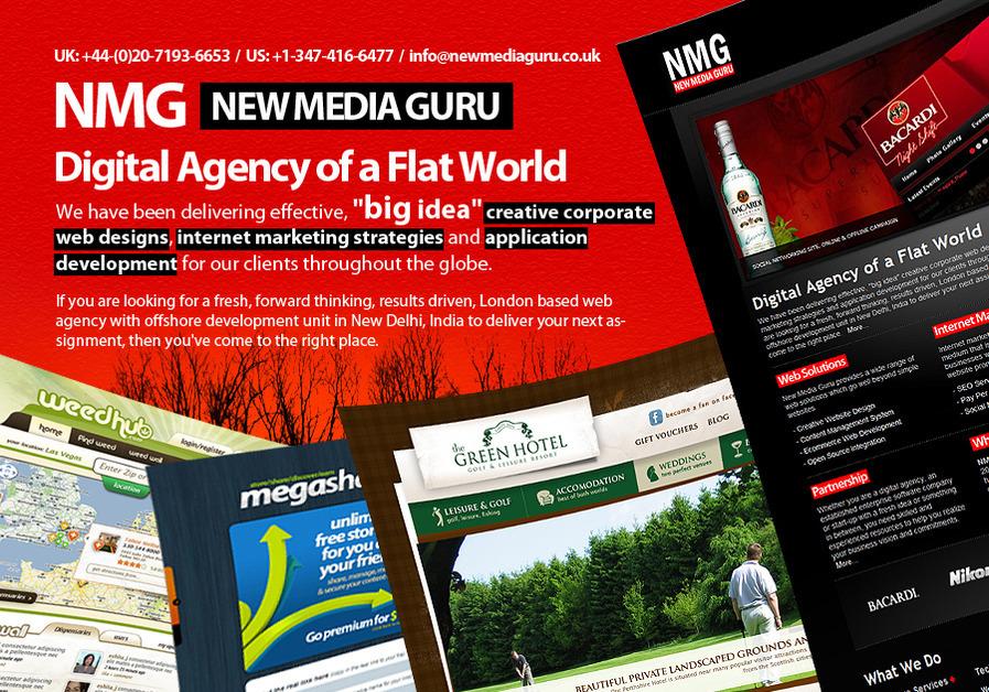 A great web design by New Media Guru, New York, NY: