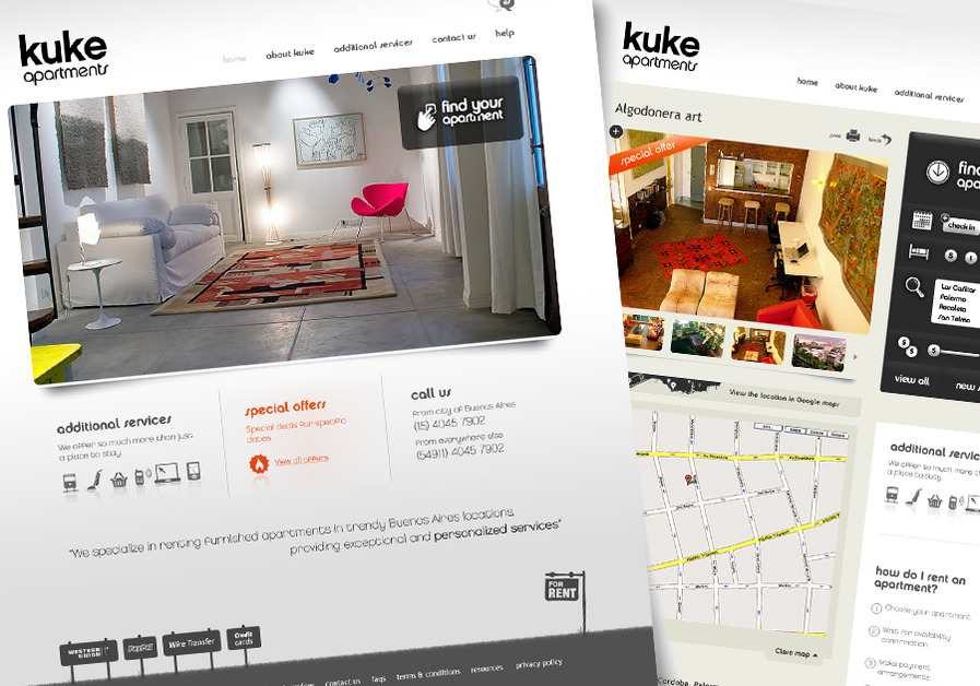 A great web design by Signalfly, New York, NY: