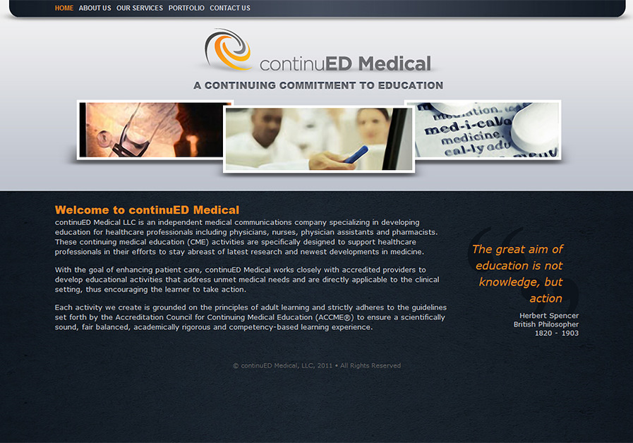 A great web design by Hector Aranda Web Worx, San Francisco, CA: