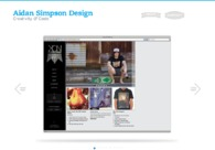 A great web design by Aidan Simpson Design, Sydney, Australia: