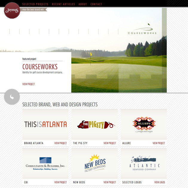 A great web design by Jaymus, Atlanta, GA: