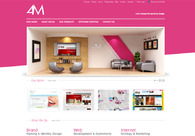 A great web design by 4M, Karachi, Pakistan: