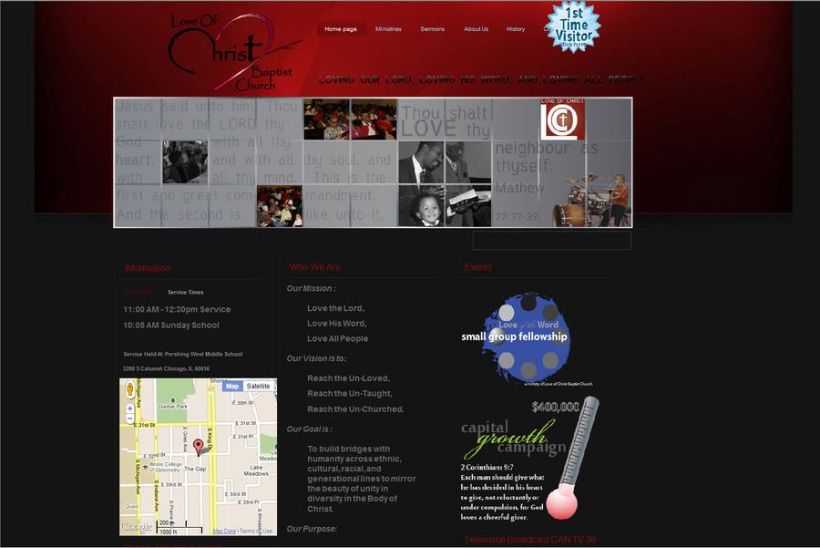 A great web design by LWashingtonDesign.com, Chicago, IL: