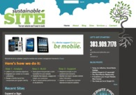 A great web design by Sustainable Site, Denver, CO: