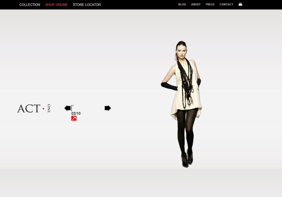 A great web design by Sizzle Factor, Los Angeles, CA:
