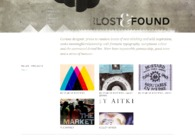 A great web design by In the Lost & Found, Halifax, Canada: