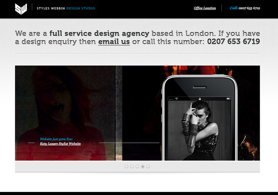 A great web design by Styles Webbin, London, United Kingdom: