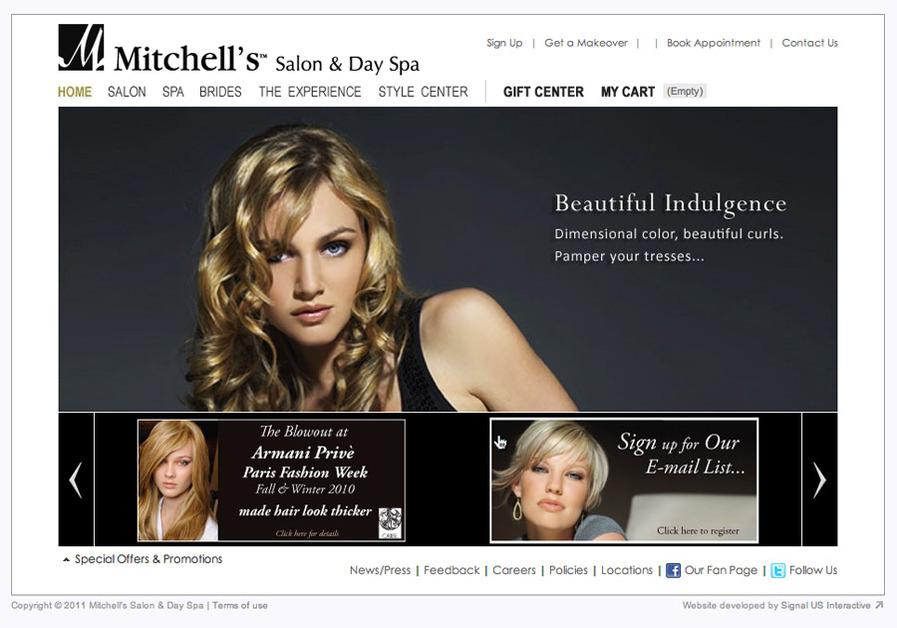 A great web design by Signal US Interactive, Cincinnati, OH: