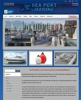 A great web design by Laris Technologies, Chesapeake, VA: