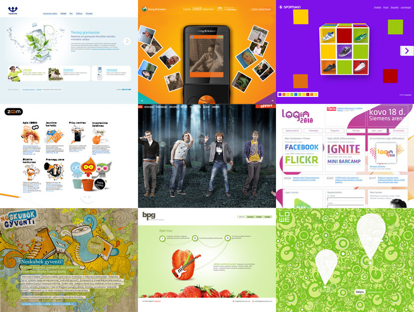 A great web design by Indigo Kids, Copenhagen, Denmark: