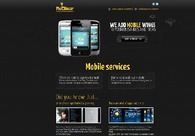 A great web design by Mobile ZR: