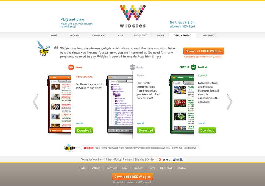 A great web design by JPG-design, Brest Brittany, France:
