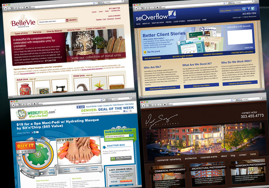 A great web design by Phases Design Studio, Denver, CO: