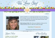 A great web design by Chris Jones, Chapel Hill, NC: