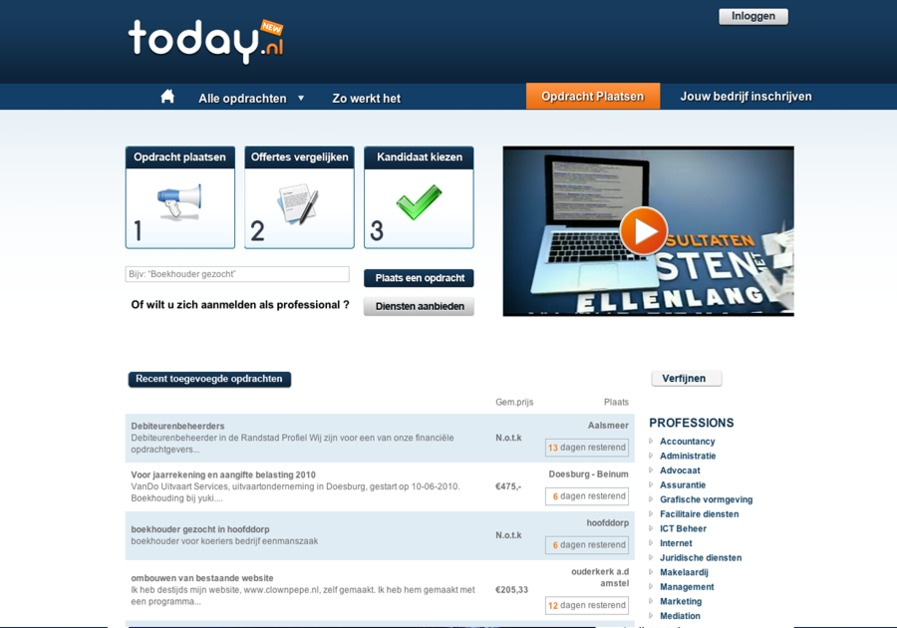 A great web design by Ardeka Online, Amsterdam, Netherlands: