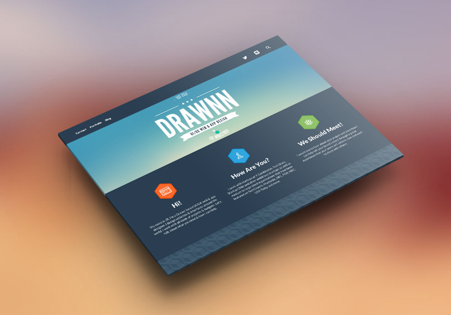 A great web design by drawnn, Denver, CO: Website, Marketing Website , Service , Tumblr