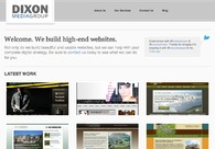 A great web design by Dixon Media Group, Nashville, TN: