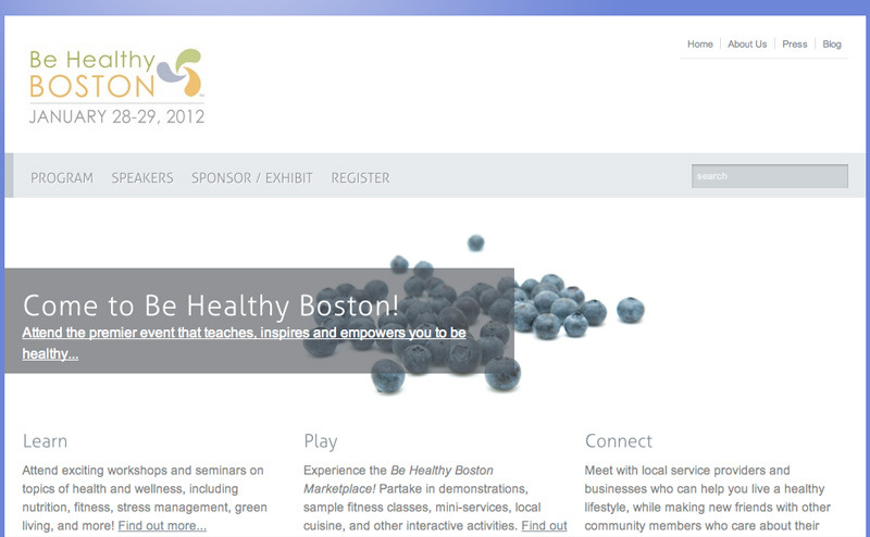 A great web design by Spark Launch, Boston, MA: