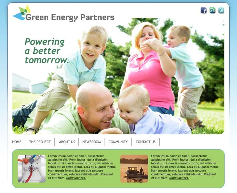 A great web design by Kevin Druff, Richmond, VA: